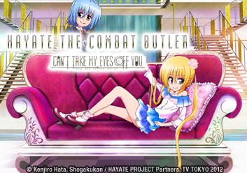 Hayate the Combat Butler! Can't Take My Eyes Off of You
