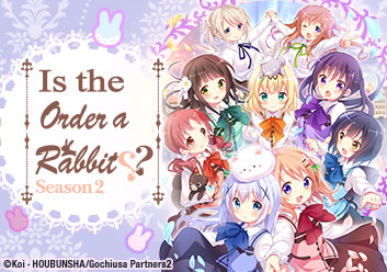 Is the Order a Rabbit?? Season 2